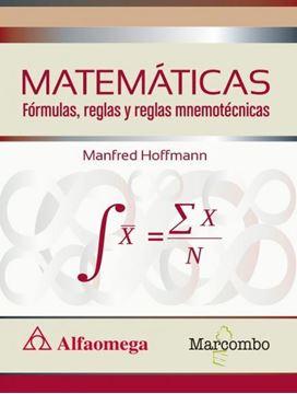 Matemáticas. Fórmulas, reglas y reglas mnemotécnicas