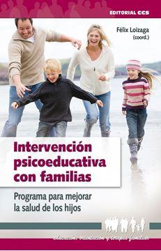 """Intervención psicoeducativa con familias """"Programa para mejorar la salud de los hijos"""""""