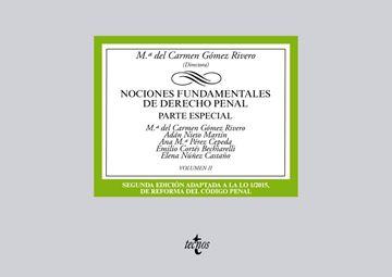 """Nociones fundamentales de Derecho Penal """"Volumen II. Parte especial"""""""