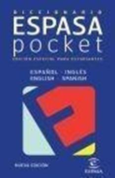 """Diccionario Espasa Pocket Español Inglés """"Especial para Estudiantes"""""""