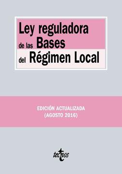 Ley reguladora de las Bases del Régimen Local 2016