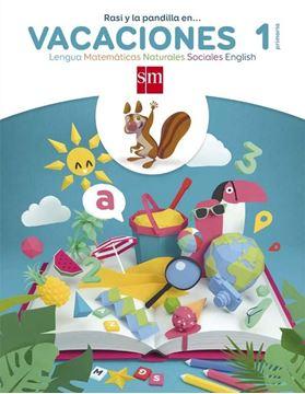 """Vacaciones 1º Primaria. Lengua, Matemáticas, Naturales, Sociales, English """"Rasi y la Pandilla En..."""""""