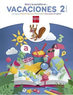 """Vacaciones 2º Primaria. Lengua, Matemáticas, Naturales, Sociales, English """"Rasi y la Pandilla En..."""""""