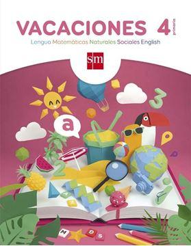 Vacaciones 4º Primaria. Lengua, Matemáticas, Naturales, Sociales, English