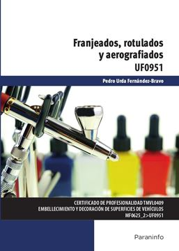 """Franjeados, rotulados y aerografiados """"UF 0951"""""""