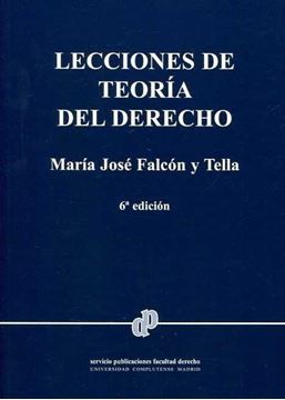 Lecciones de teoría del derecho 6ª ed, 2018