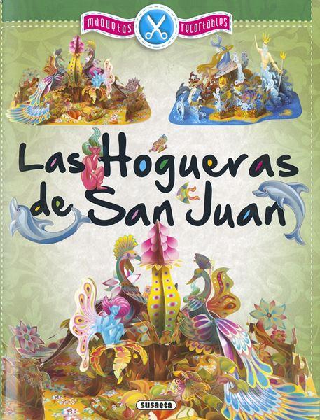 Las Hogueras de San Juan, maquetas recortables