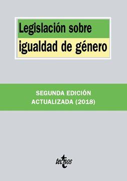 Legislación sobre igualdad de género 2ª Ed, 2018