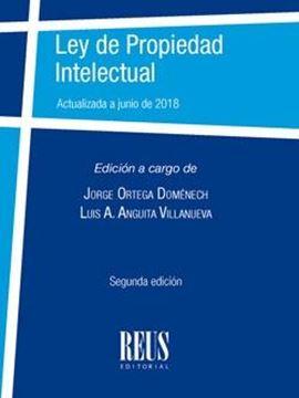 """Ley de Propiedad Intelectual """"Actualizada a junio de 2018"""""""