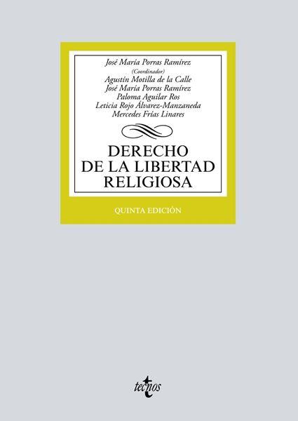 Derecho de la libertad religiosa 5ª ed, 2018