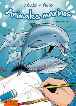 Dibujo y pinto animales marinos