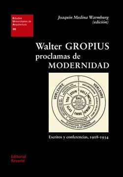 """Walter Gropius. Proclamas de modernidad """"Escritos y conferencias, 1908-1934"""""""