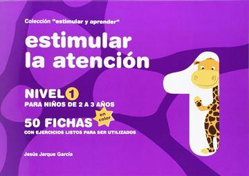 """Estimular la atención (color) """"nivel 1 : para niños de 2 a 3 años"""""""