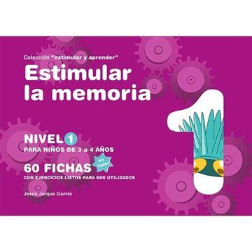 """Estimular la memoria, nivel 1(color) """"Para niños de 3 a 4 años"""""""