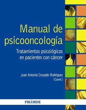 """Manual de psicooncología """"Tratamientos psicológicos en pacientes con cáncer"""""""