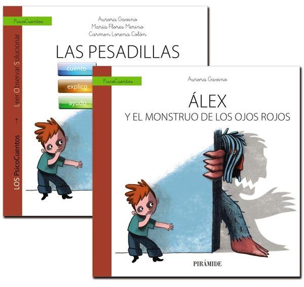 Guía: las Pesadillas + Cuento: Álex y el Monstruo de los Ojos Rojos