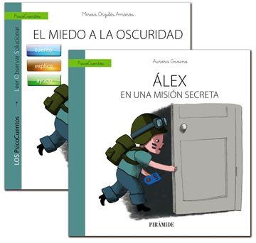 """Guía: el Niño con Miedo a la Oscuridad + Cuento: Álex en una Misión Secreta """"El Niño con Miedo a la Oscuridad (Un Libro que Guía) +  Álex en una Misi"""""""
