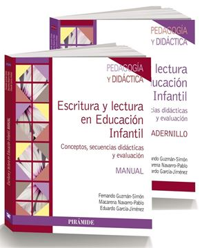 """Pack- Escritura y Lectura en Educación Infantil """"Conceptos, Secuencias Didácticas y Evaluación"""""""