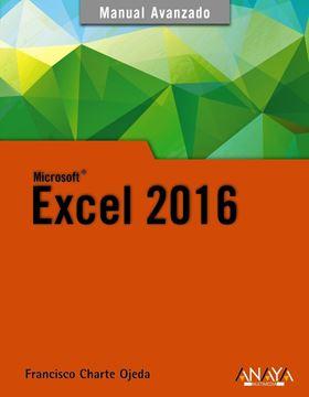 """Excel 2016 """"Manual avanzado"""""""