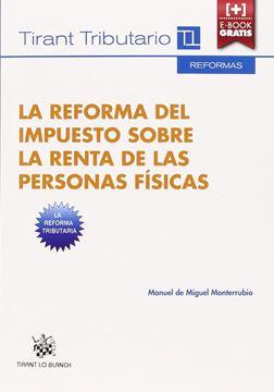 """Reforma del impuesto sobre la renta de las personas físicas """"IRPF"""""""