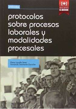 Protocolos sobre procesos laborales y modalidades procesales