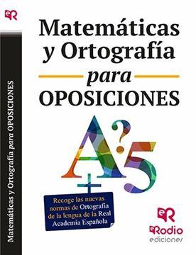 Matemáticas y ortografía para oposiciones