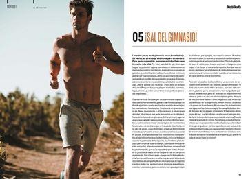 """El libro del reto Men's Health (Men's Health) """"Un cuerpo más fibrado, fuerte y musculado en 4 meses"""""""