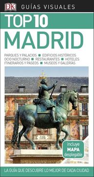 """Madrid Guías Visuales Top 10 2018 """"La guía que descubre lo mejor de cada ciudad"""""""