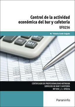 UF 0256 Control de la actividad económica del bar y cafetería