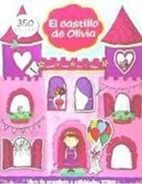 """Castillo de Olivia con 350 pegatinas """"Libro de pegatinas y actividades Titiris"""""""