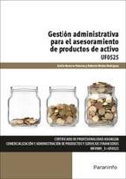 """Gestión administrativa para el asesoramiento de productos de activo """"Certificado de profesionalidad de comercialización y administración de productos y servicios financieros"""""""