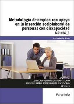 Metodología de empleo con apoyo en la inserción sociolaboral de personas con dis