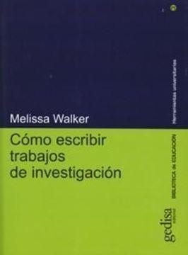 Como Escribir Trabajos de Investigacion