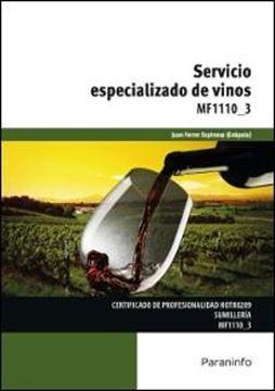 """Servicio especializado de vinos """"MF1110_3"""""""