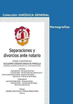 Separaciones y divorcios ante notario