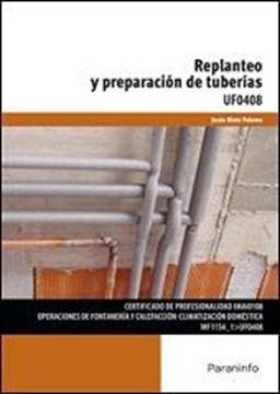 Replanteo y preparación de tuberías UF0408