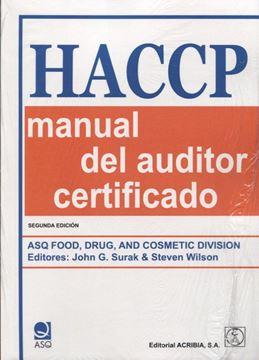 HACCP: Manual del auditor certificado