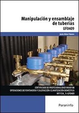 UF0409: Manipulación y ensamblaje de tuberías