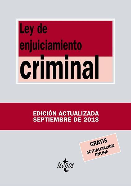 Ley de Enjuiciamiento Criminal 2ª ed, 2018