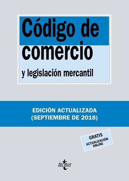 Código de Comercio y legislación mercantil 35ª ed, 2018