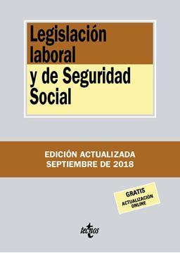 Legislación laboral y de Seguridad Social 20ª ed, 2018