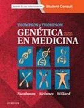 Thompson & Thompson. Genética en Medicina + StudentConsult (8ªed)   2016