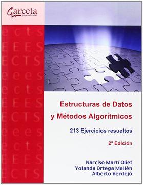 """Estructuras de datos y métodos algoritmicos """"213 ejercicios resueltos"""""""