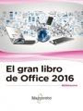 Gran Libro de Office 2016, El