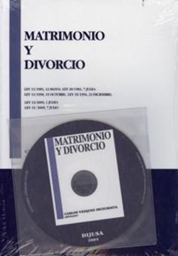 Matrimonio y Divorcio + Cd-Rom