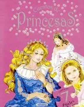 """Cuentos de princesas """"Contiene 7 puzles"""""""