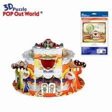 "Puzzle 3d Hansel & Gretel ""Ginger Bread House"""