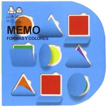 """Memo: formas y colores """"Libro-juego de solapas de memori"""""""