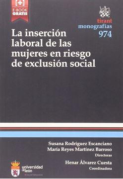 La inserción laboral de las mujeres en riesgo de exclusión social