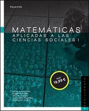 """Matemáticas aplicadas a las Ciencias sociales I """"Bachillerato"""""""